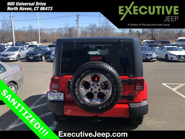Certified Pre-Owned 2016 Jeep Wrangler Sahara