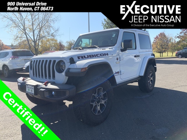 CERTIFIED PRE-OWNED 2018 JEEP WRANGLER RUBICON 4WD