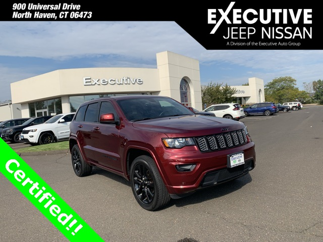 Certified Pre-Owned 2017 Jeep Grand Cherokee Altitude
