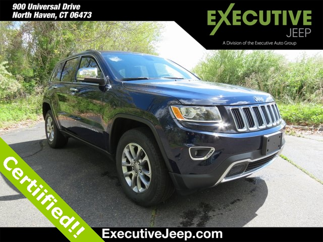 Certified Pre-Owned 2015 Jeep Grand Cherokee Limited