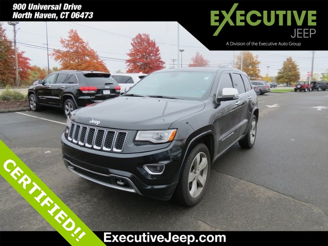 Certified Pre-Owned 2014 Jeep Grand Cherokee Overland