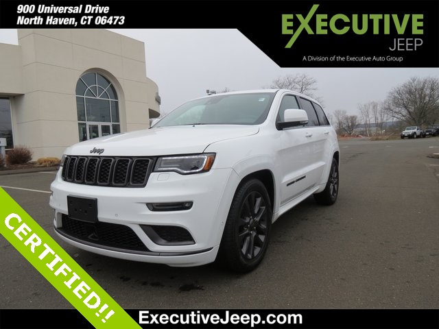 CERTIFIED PRE-OWNED 2019 JEEP GRAND CHEROKEE HIGH ALTITUDE 4WD