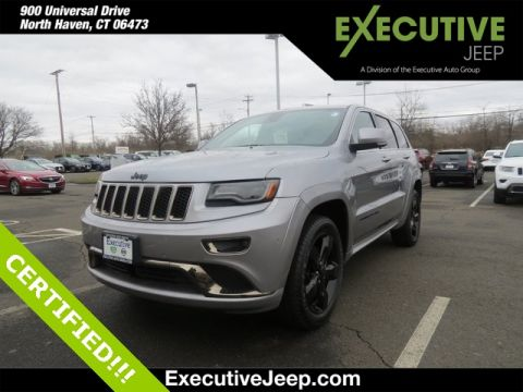 Certified Pre-Owned 2015 Jeep Grand Cherokee High Altitude